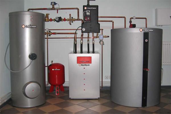 Отопление жидким топливом.